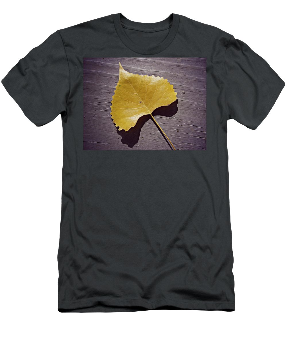 Yellow Men's T-Shirt (Athletic Fit) featuring the painting Life's Treasures by Robert Nacke