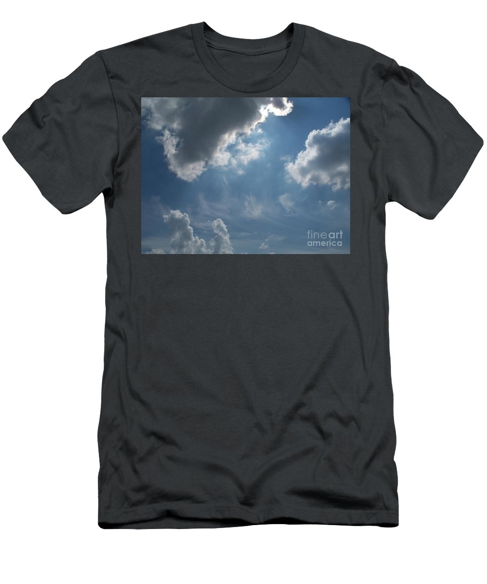 Light Men's T-Shirt (Athletic Fit) featuring the photograph Light Beyond By Diane Schiabor by Eric Schiabor