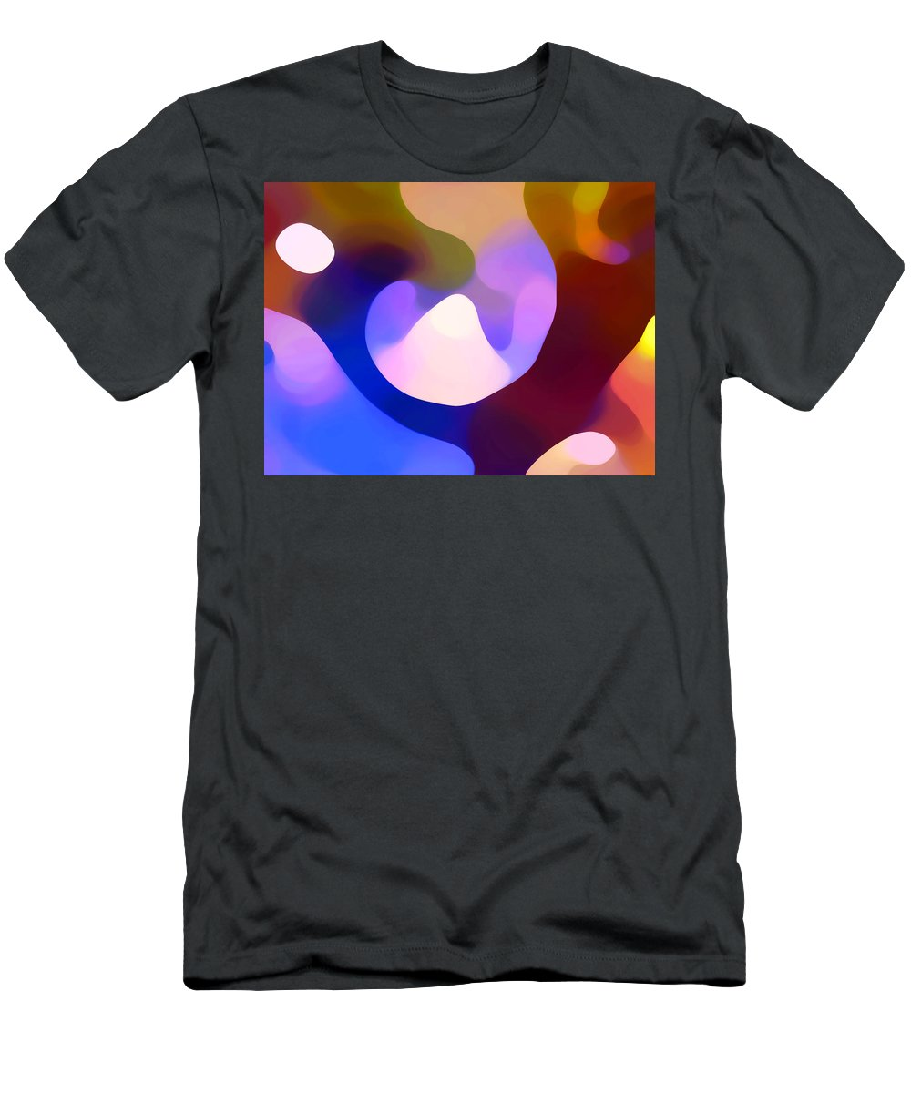 Men's T-Shirt (Athletic Fit) featuring the painting Light Through Branch by Amy Vangsgard