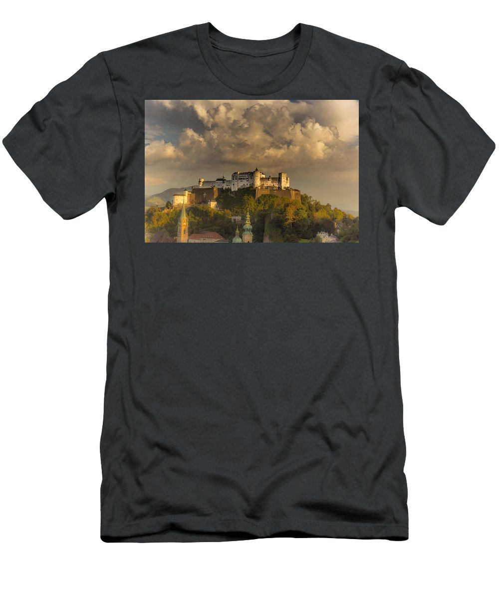Architecture Men's T-Shirt (Athletic Fit) featuring the photograph Like A Fairytale by Chris Fletcher