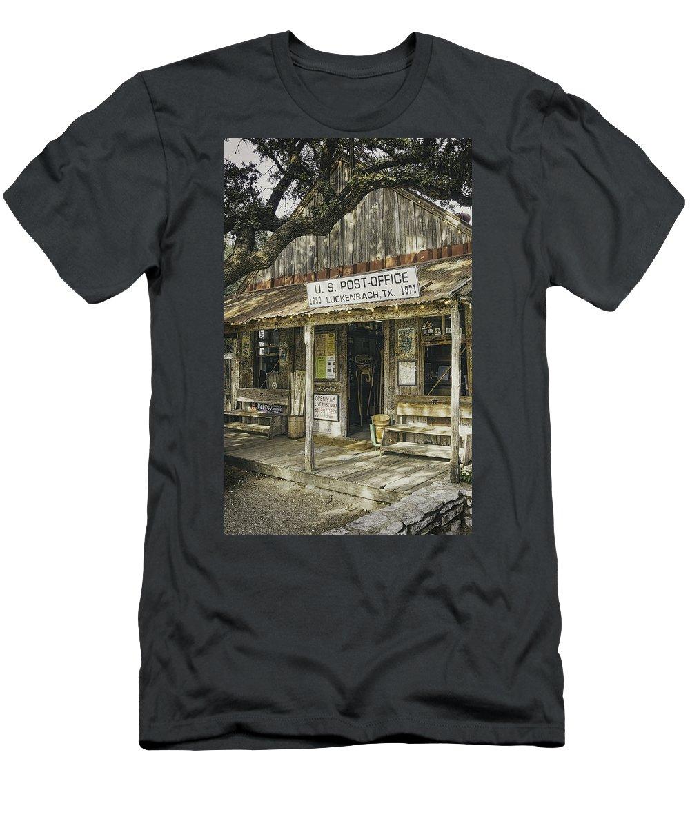 Luckenbach T-Shirt featuring the photograph Luckenbach by Scott Norris