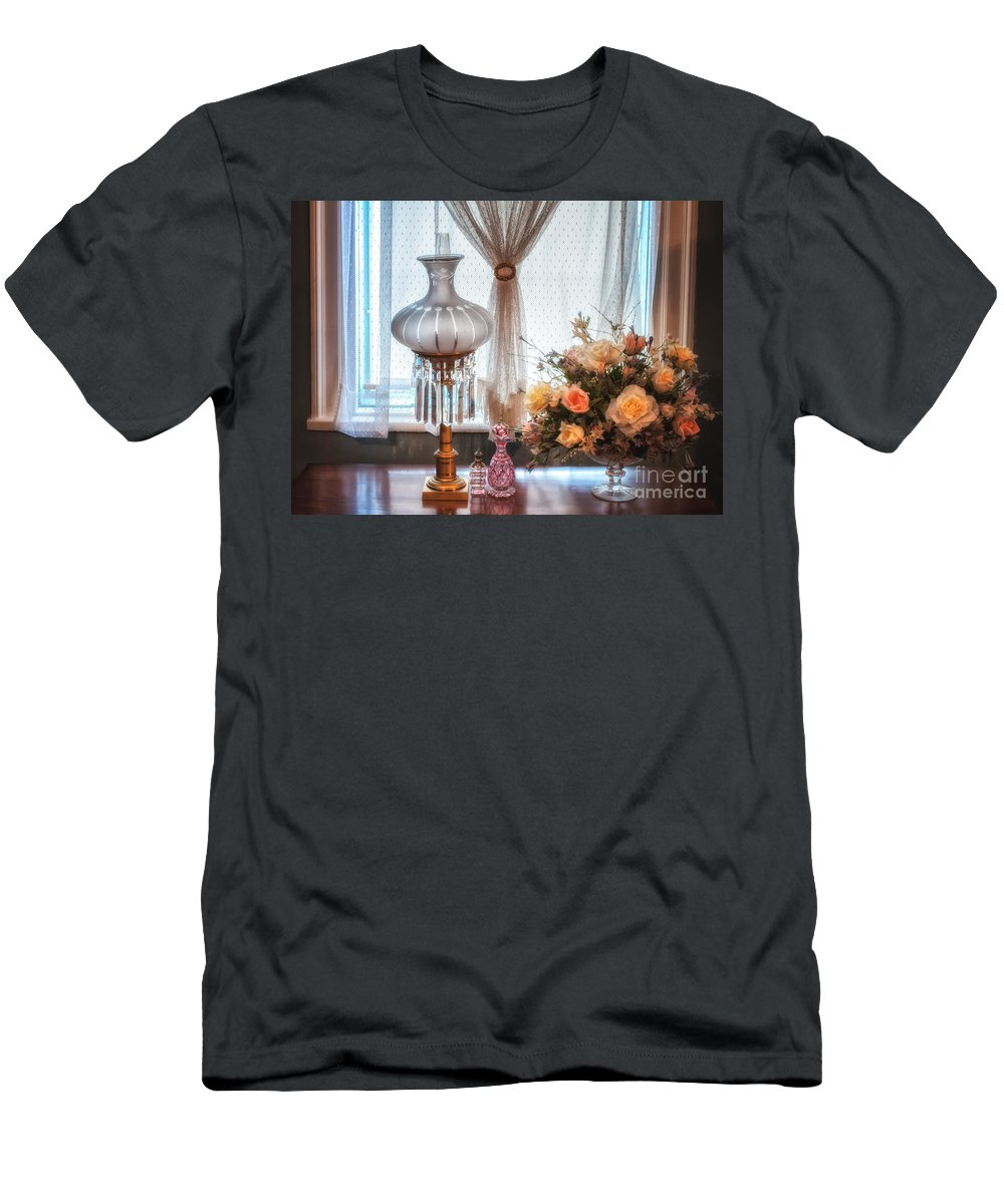 Men's T-Shirt (Athletic Fit) featuring the photograph Lucy's Window by Scott Thorp