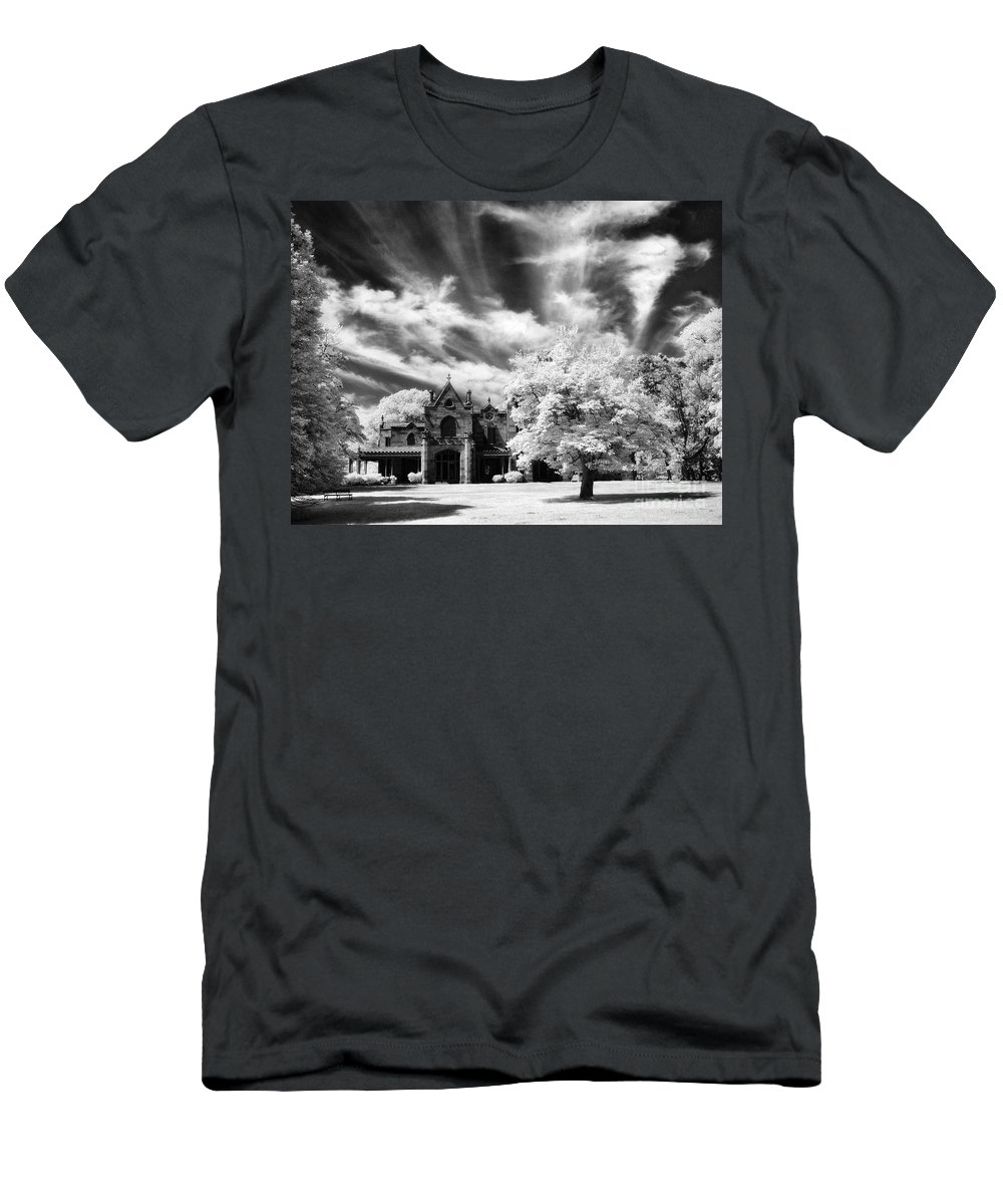 Lyndhurst Men's T-Shirt (Athletic Fit) featuring the photograph Lyndhurst by Claudia Kuhn