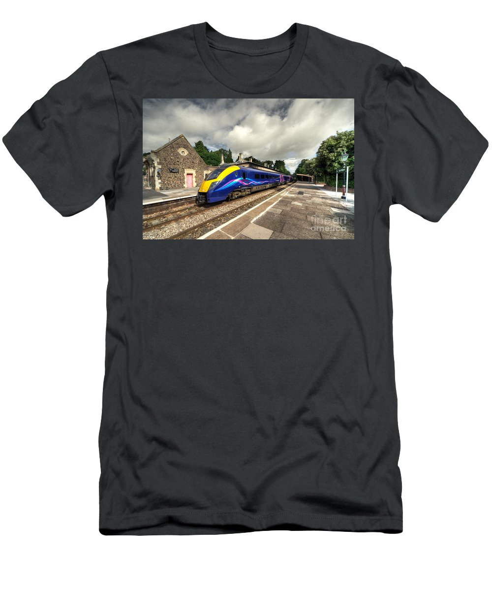 Adelante Men's T-Shirt (Athletic Fit) featuring the photograph Malvern Adelante by Rob Hawkins