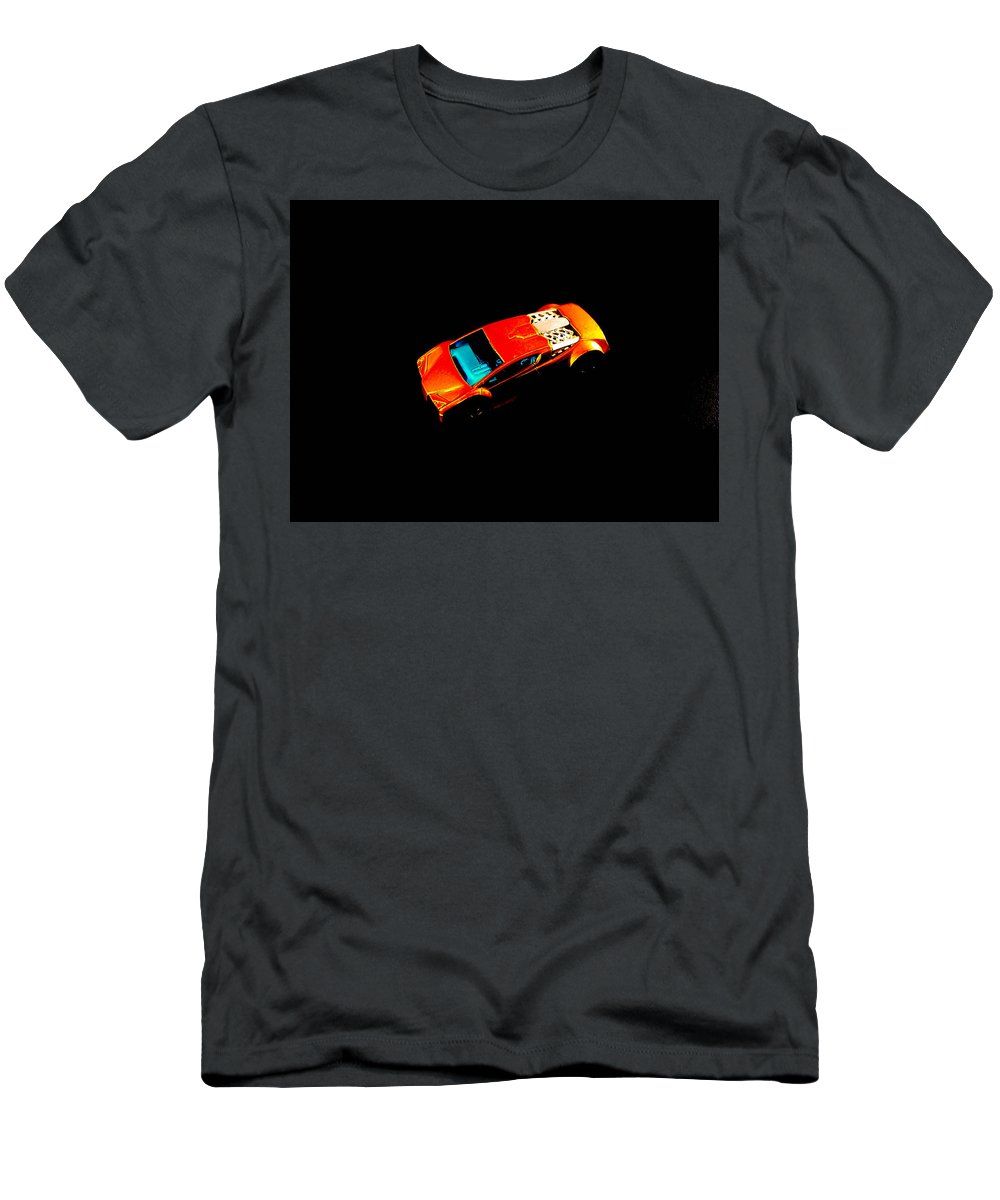 Tiny Car Men's T-Shirt (Athletic Fit) featuring the photograph Match Box Car by Sherman Perry