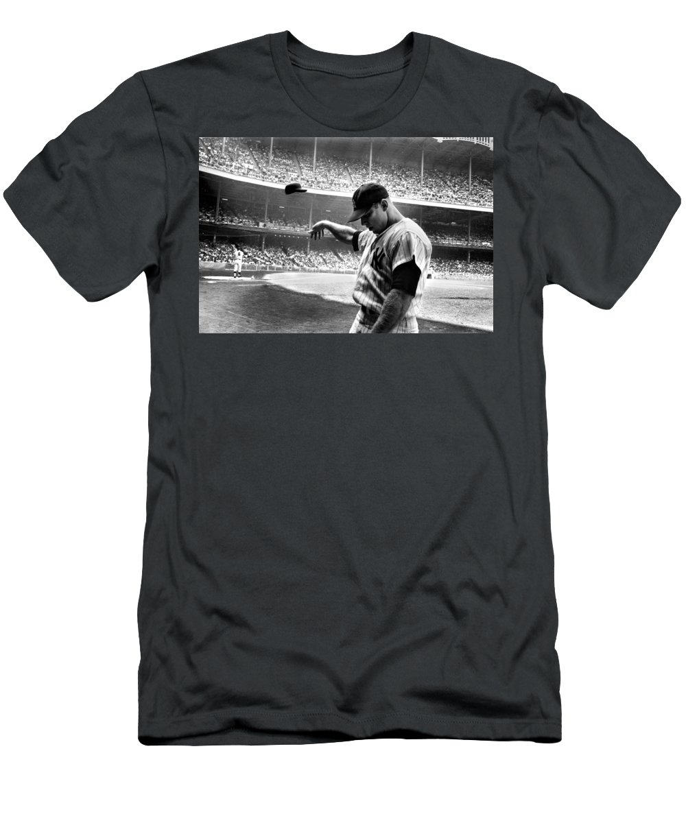 Mickey Mantle Slim Fit T-Shirts