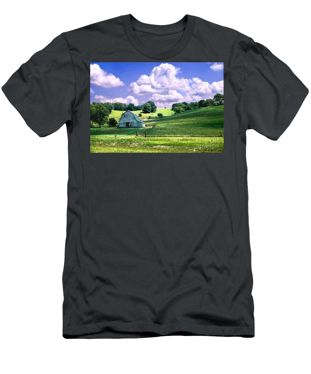 Landscape T-Shirt featuring the photograph Missouri River Valley by Steve Karol