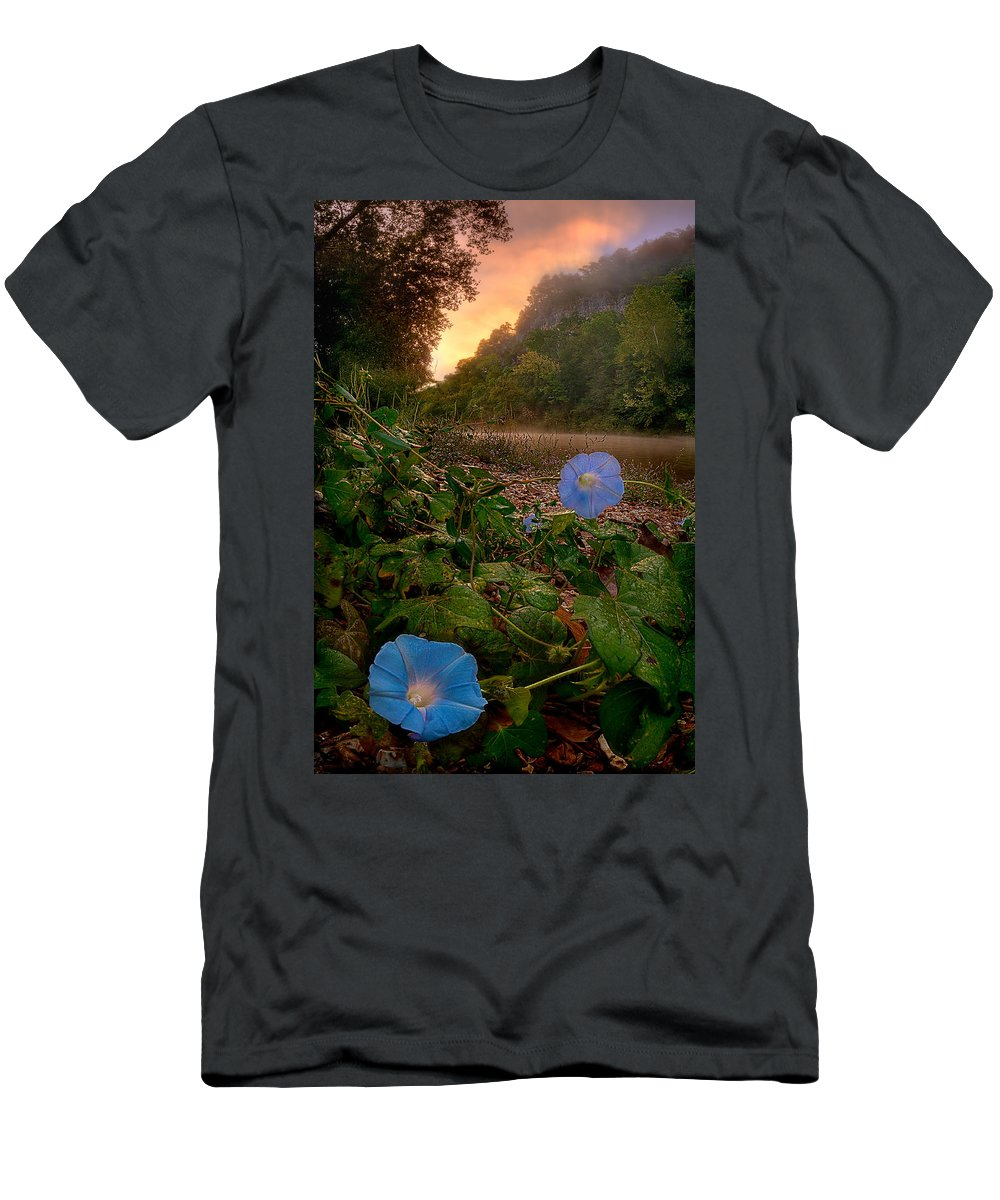 2012 Men's T-Shirt (Athletic Fit) featuring the photograph Morning Glory by Robert Charity