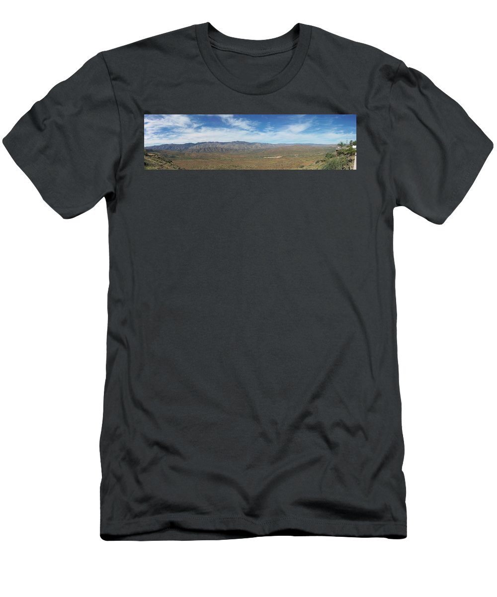 Arizona Men's T-Shirt (Athletic Fit) featuring the photograph Mountainview by Two Bridges North
