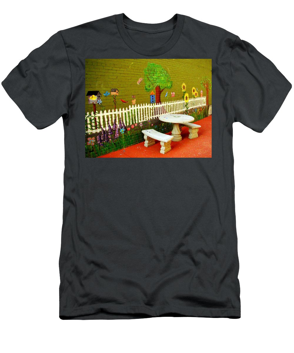 Fine Art Men's T-Shirt (Athletic Fit) featuring the photograph My Secret Place by Rodney Lee Williams