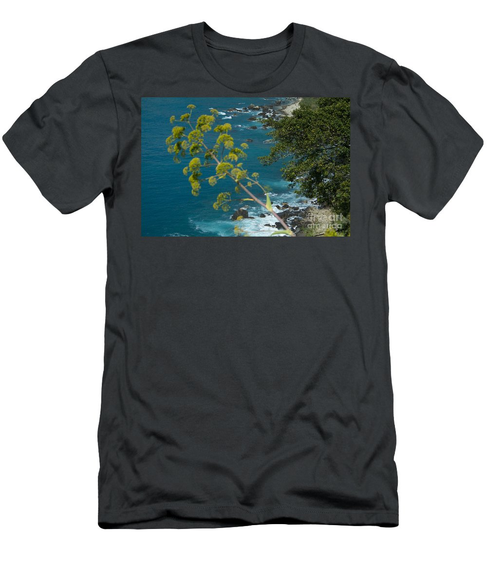 Taormina Men's T-Shirt (Athletic Fit) featuring the photograph My Taormina's Landscape by Donato Iannuzzi