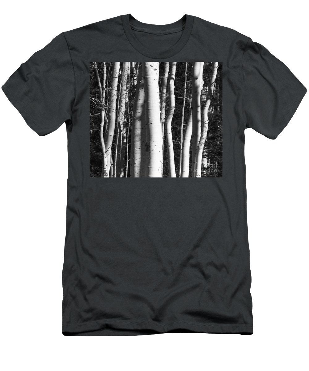Black And White Men's T-Shirt (Athletic Fit) featuring the photograph Mystick by Brandi Maher