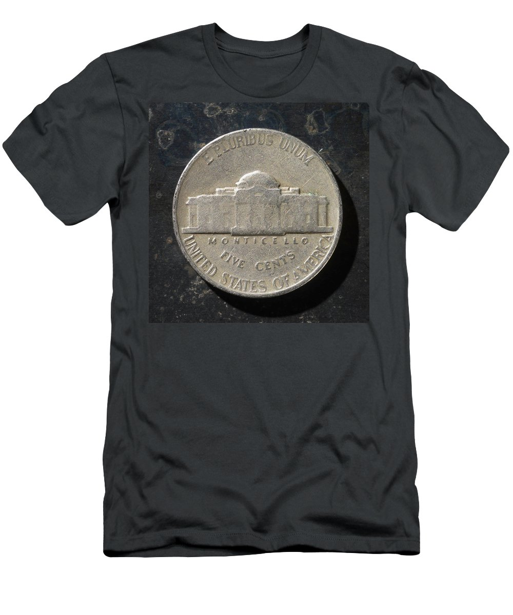 Americana Men's T-Shirt (Athletic Fit) featuring the photograph N 1947 A T by Robert Mollett