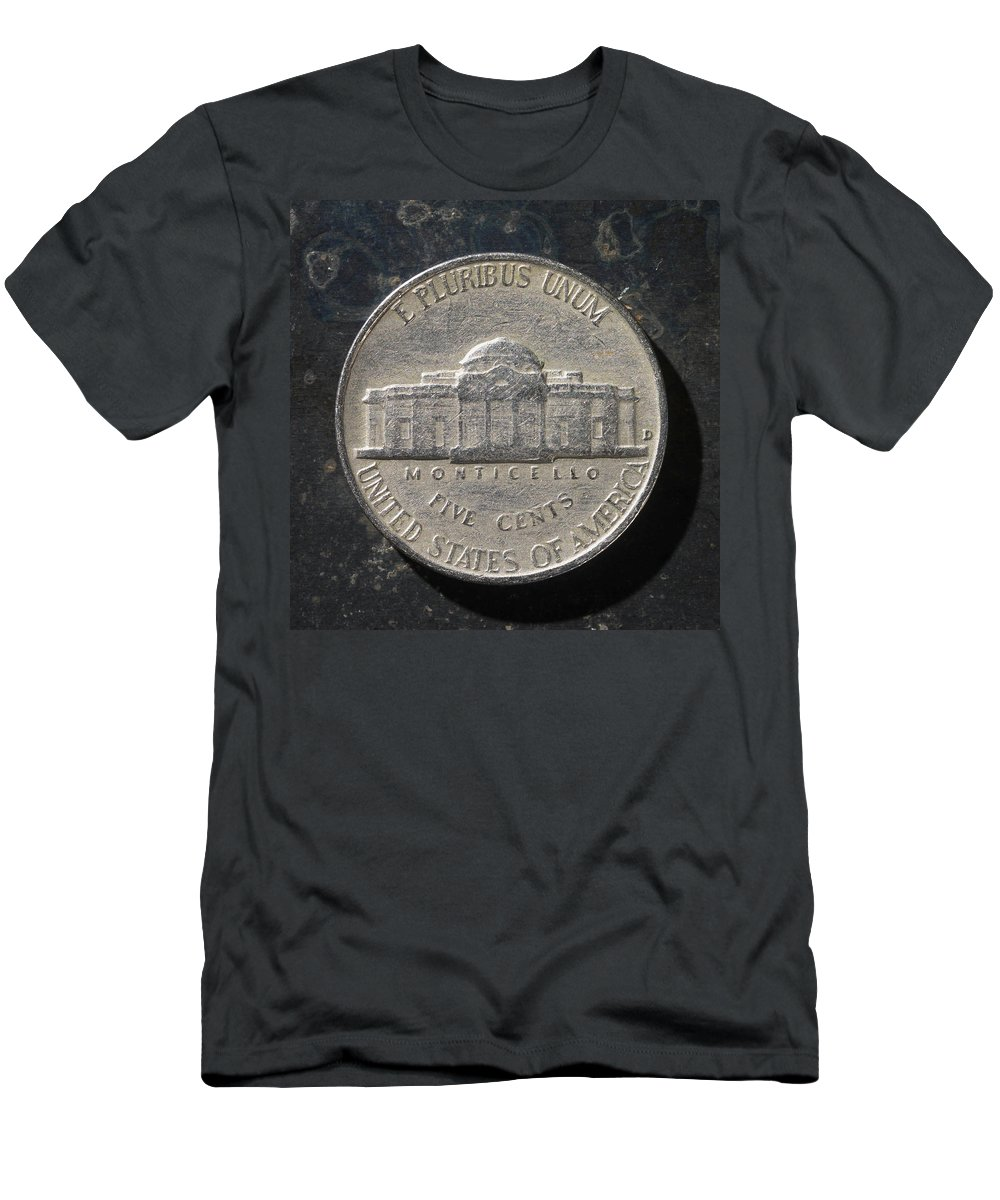 Americana Men's T-Shirt (Athletic Fit) featuring the photograph N 1959 A T by Robert Mollett
