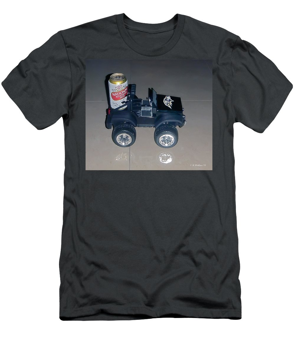 2d Men's T-Shirt (Athletic Fit) featuring the photograph Natty Boh by Brian Wallace