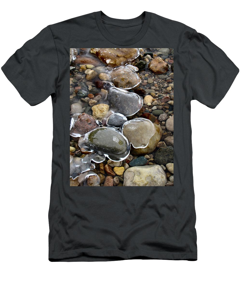Nature Men's T-Shirt (Athletic Fit) featuring the photograph Nature's Artwork 2 by Michael Tucker