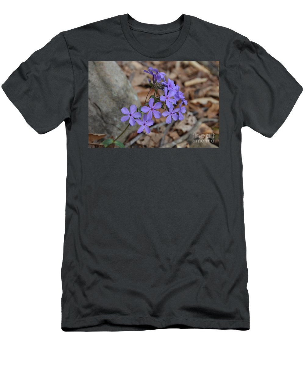 Wildflowers Men's T-Shirt (Athletic Fit) featuring the photograph Nature's Bouquet by Deanna Cagle