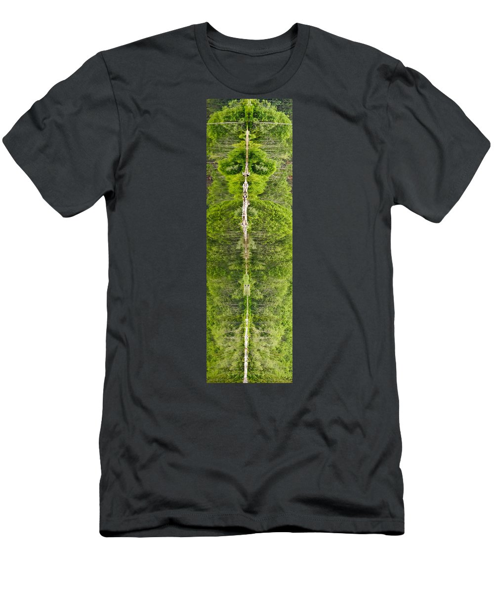 #nature Totem Men's T-Shirt (Athletic Fit) featuring the photograph Natures Totem by Randy Giesbrecht