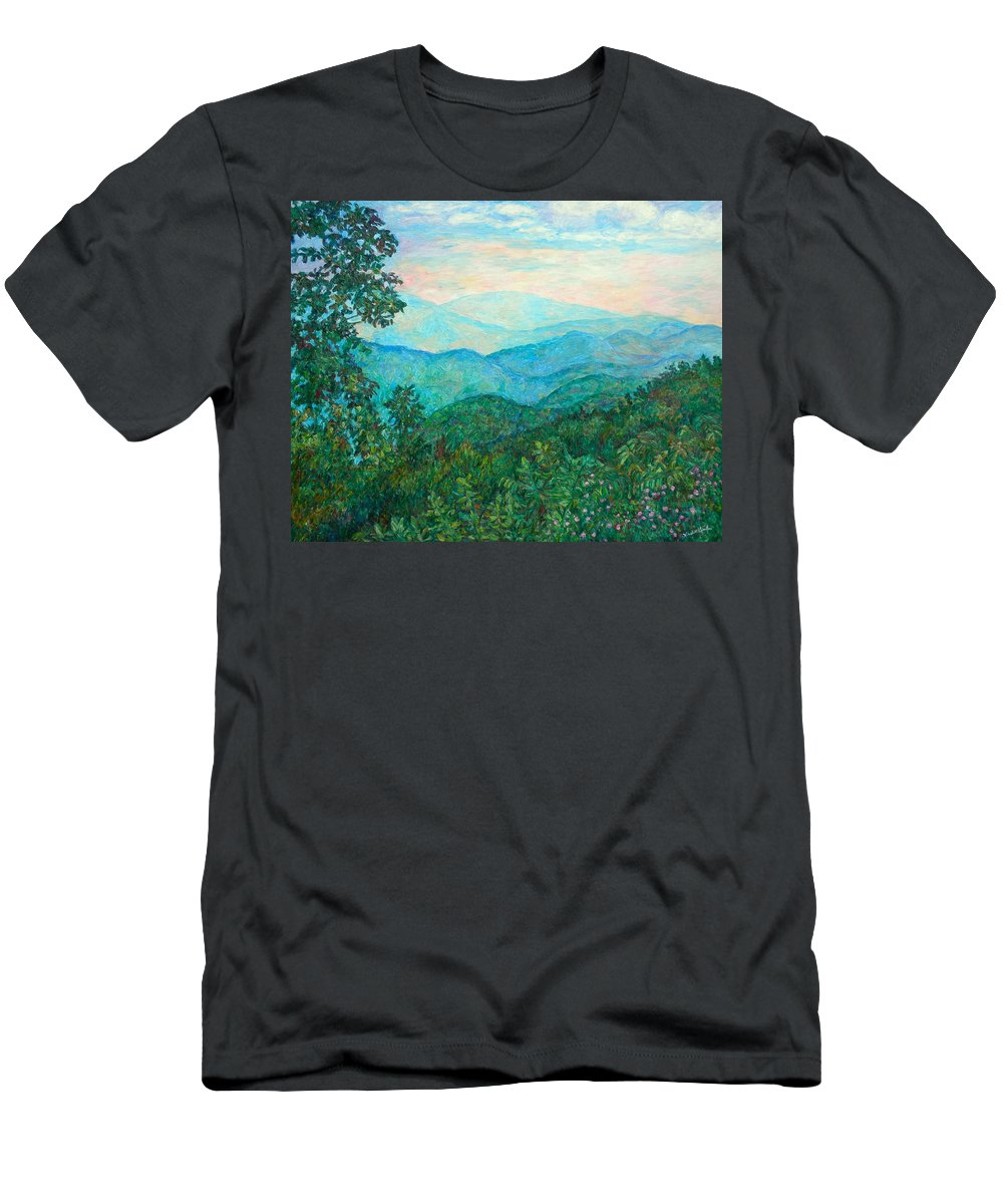 Landscape T-Shirt featuring the painting Near Purgatory by Kendall Kessler