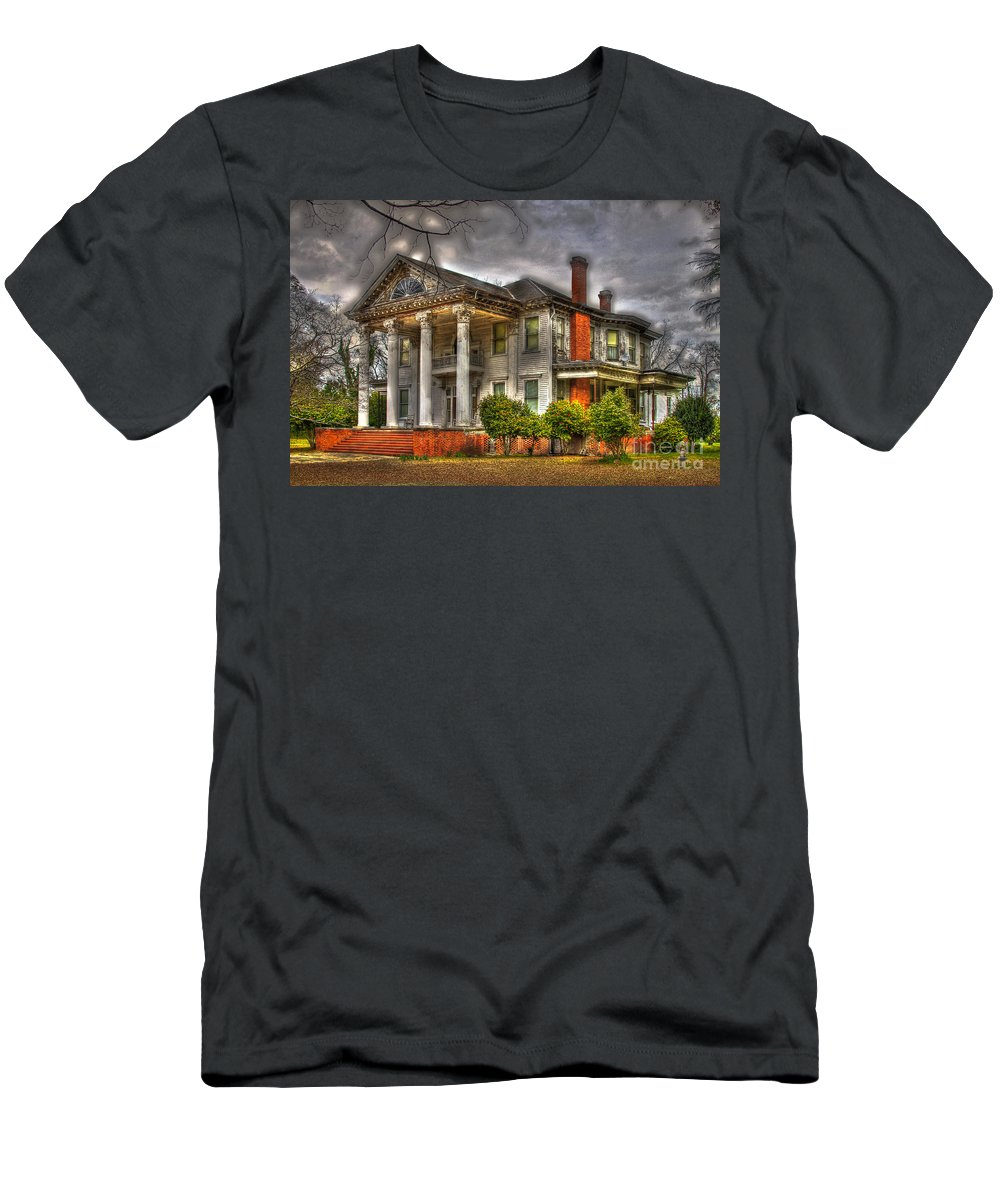 Southern Living Men's T-Shirt (Athletic Fit) featuring the photograph Needs Repair by Reid Callaway