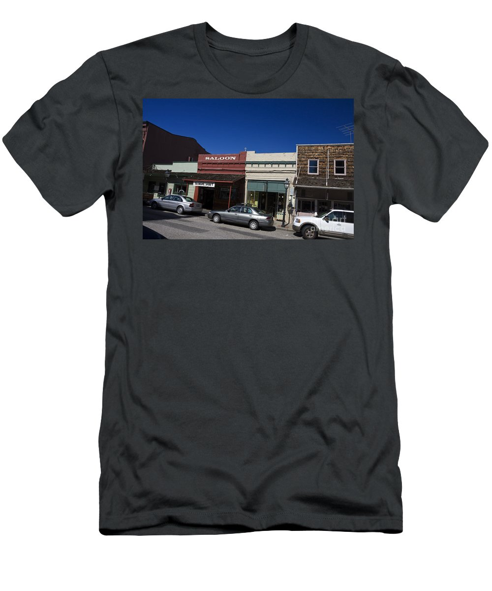 Travel Men's T-Shirt (Athletic Fit) featuring the photograph Nevada City California by Jason O Watson