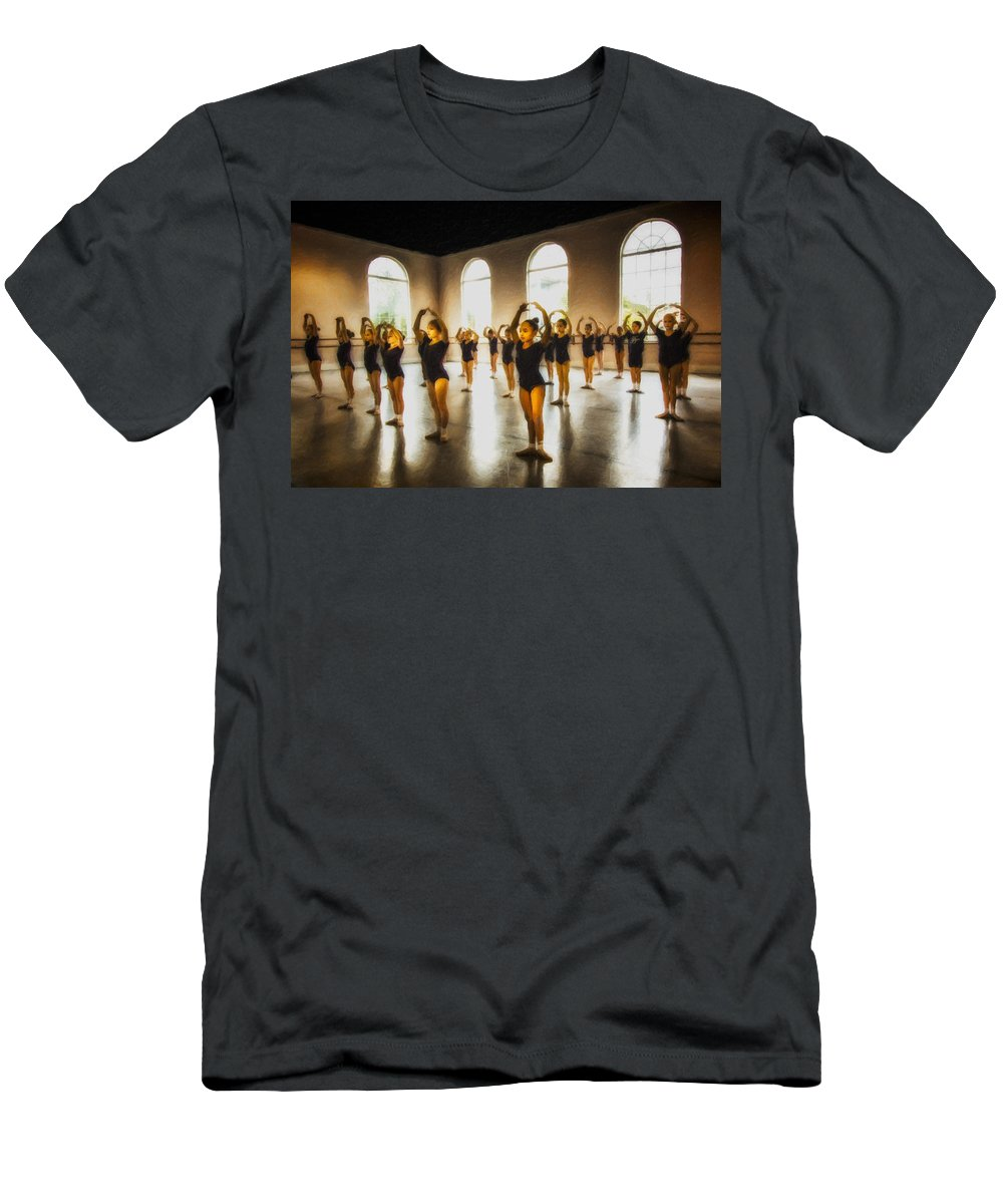 Men's T-Shirt (Athletic Fit) featuring the photograph Nfb4 by Janet Fikar