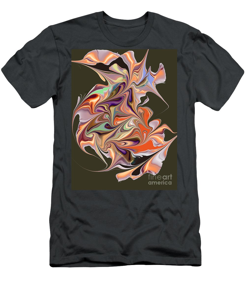 Men's T-Shirt (Athletic Fit) featuring the digital art No. 227 by John Grieder