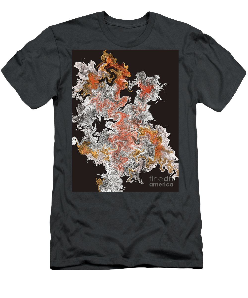 Men's T-Shirt (Athletic Fit) featuring the digital art No. 242 by John Grieder