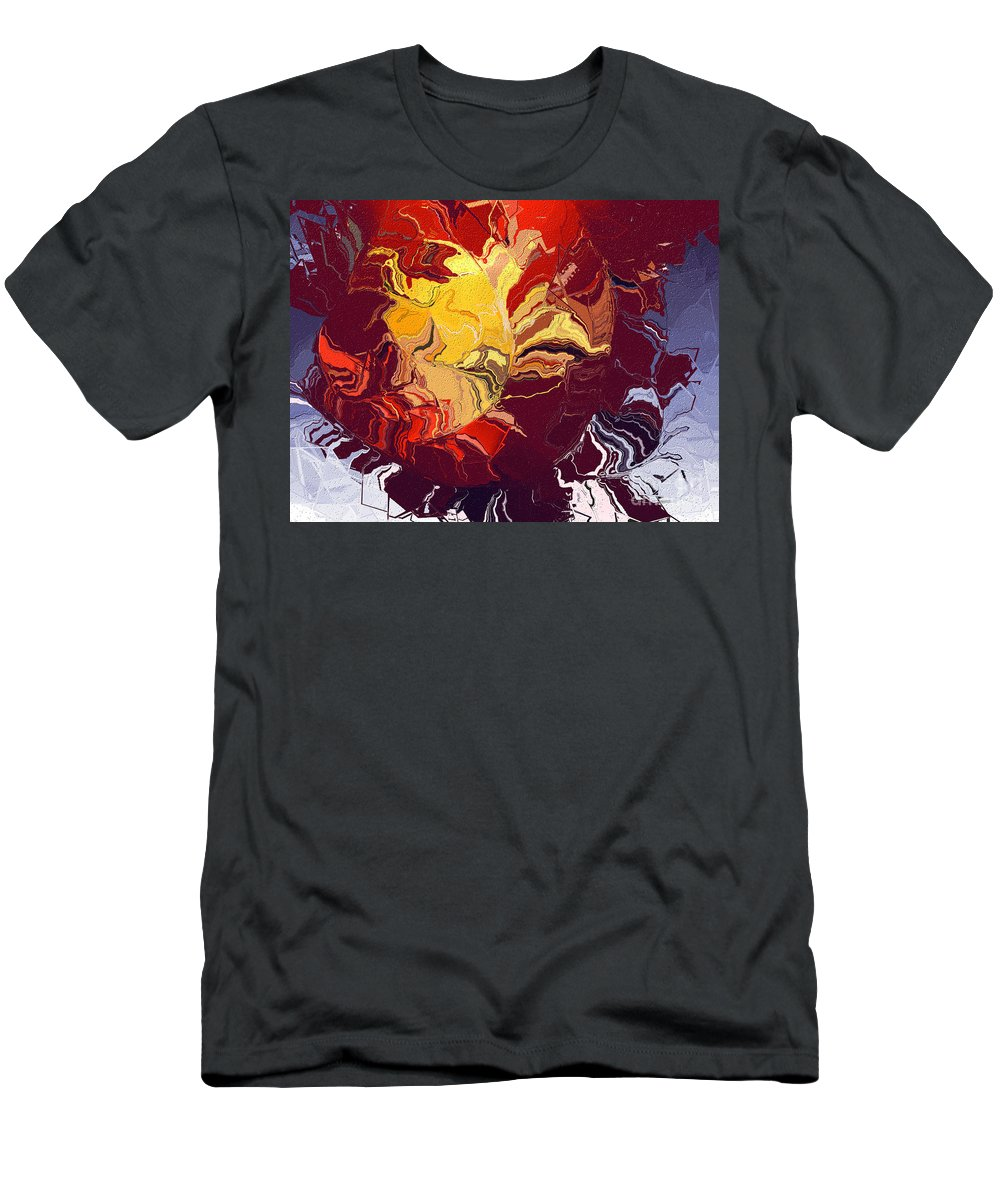 Men's T-Shirt (Athletic Fit) featuring the digital art No. 921 by John Grieder