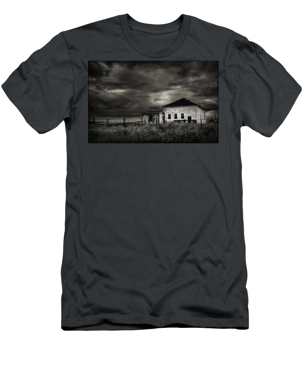 Nor'easter Men's T-Shirt (Athletic Fit) featuring the photograph Nor'easter by Rick Mosher