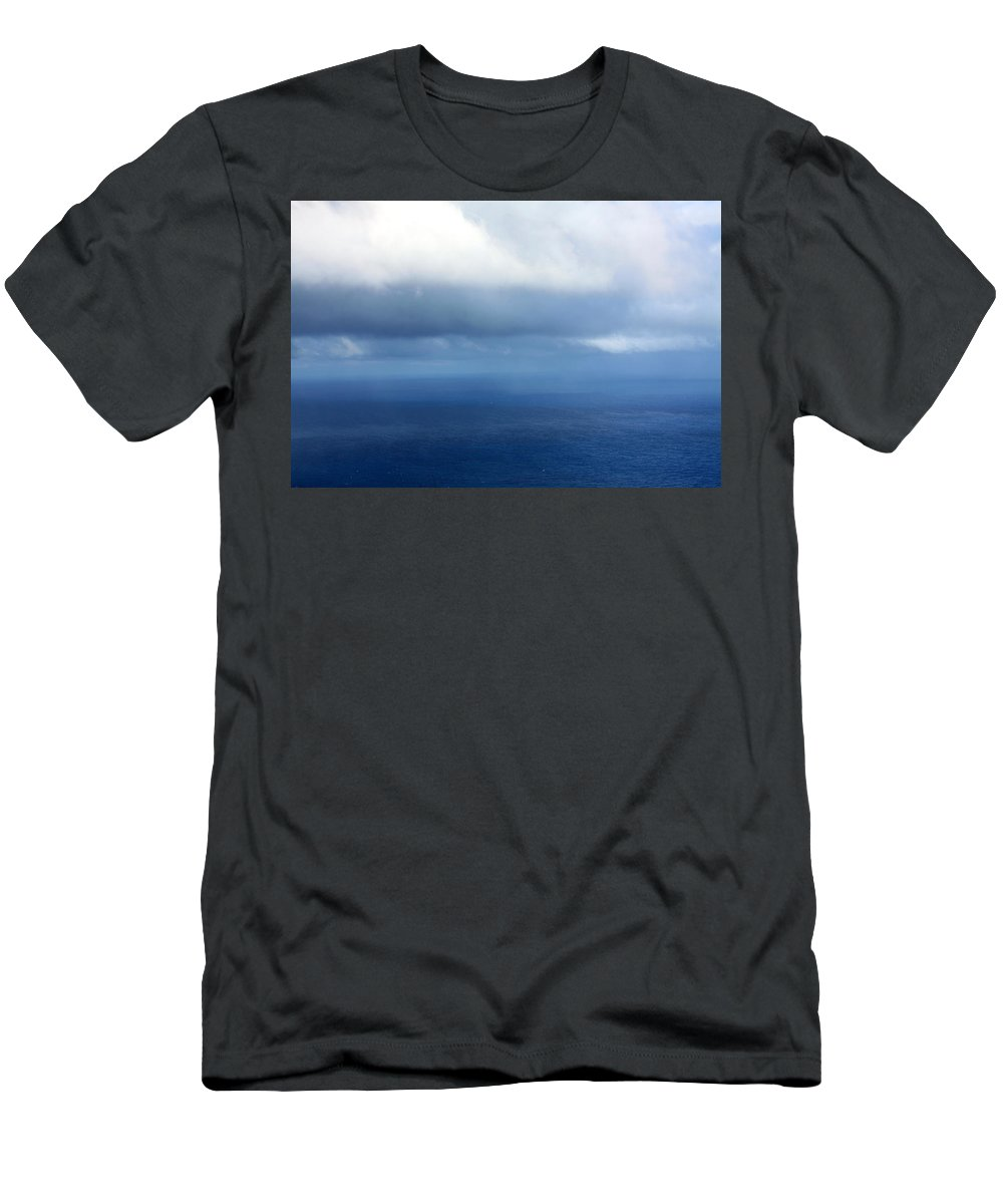 Ocean Men's T-Shirt (Athletic Fit) featuring the photograph Ocean Of Existence by Karon Melillo DeVega