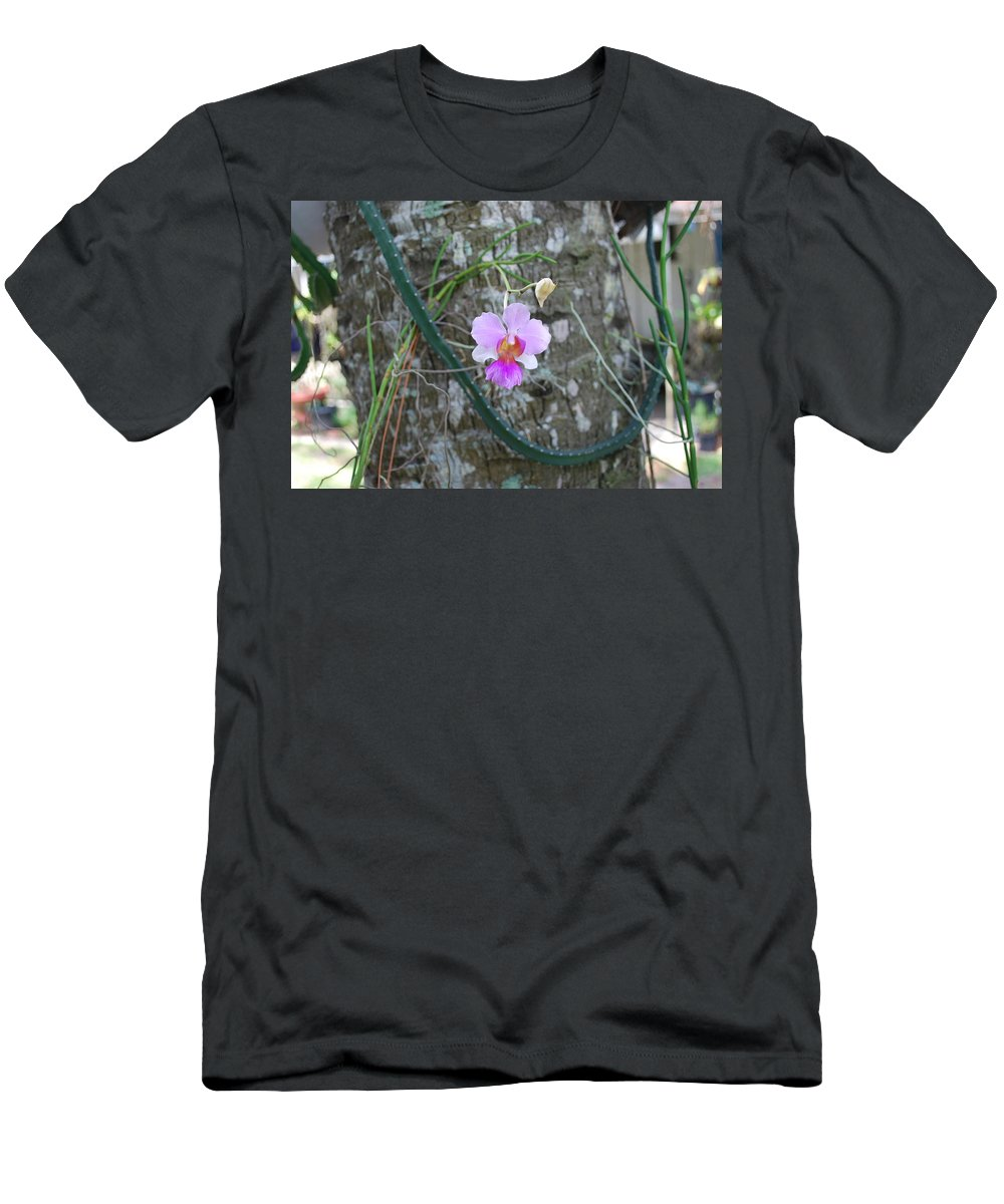 Rare Men's T-Shirt (Athletic Fit) featuring the photograph Ochid by Robert Floyd