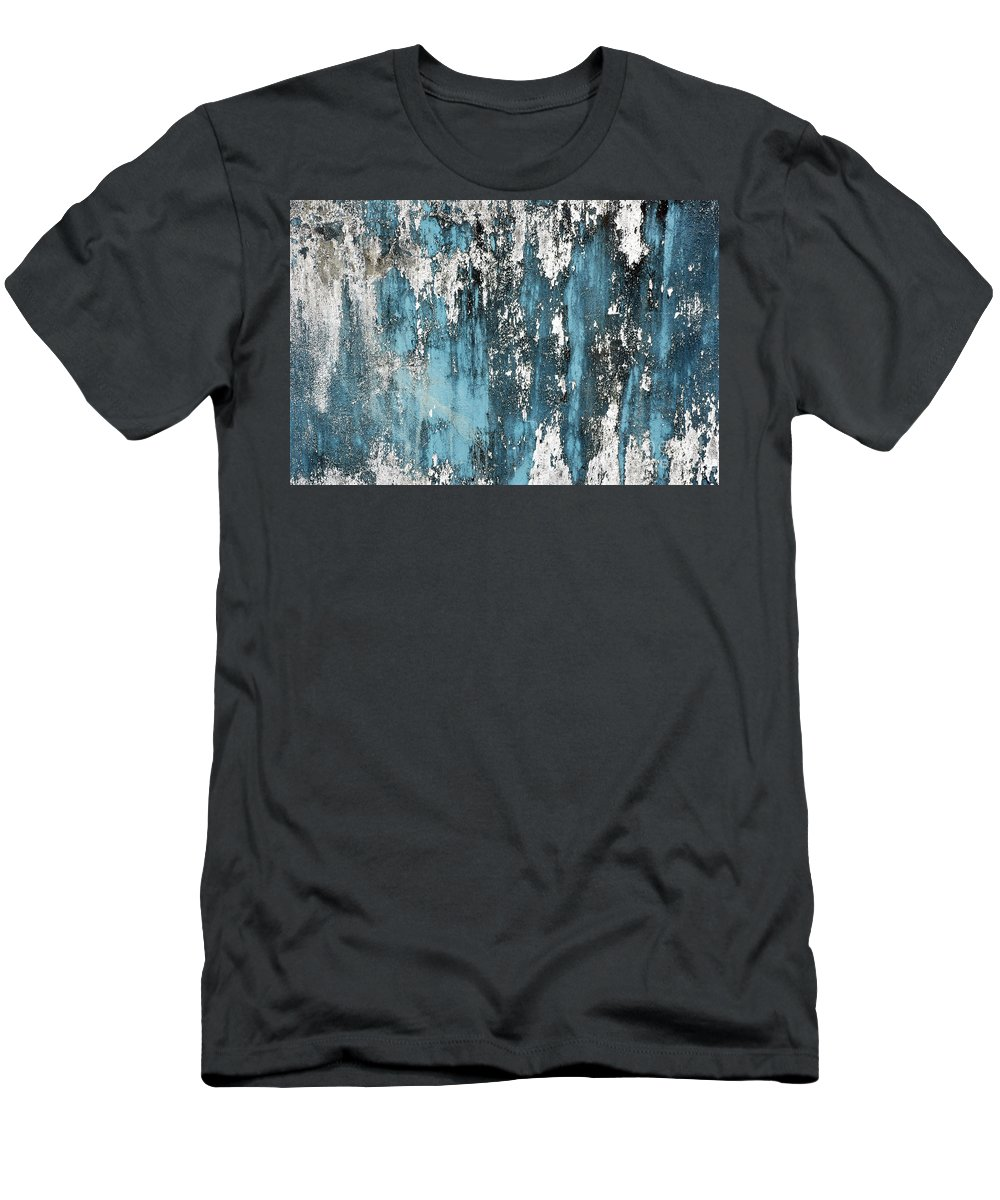Old Men's T-Shirt (Athletic Fit) featuring the photograph Old Wall by Antoni Halim
