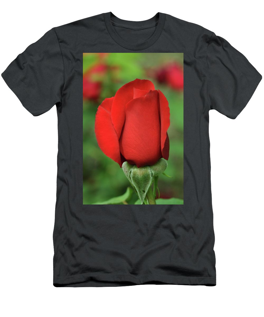 Rose Men's T-Shirt (Athletic Fit) featuring the photograph Olympiad Hybrid 2 by Allen Beatty