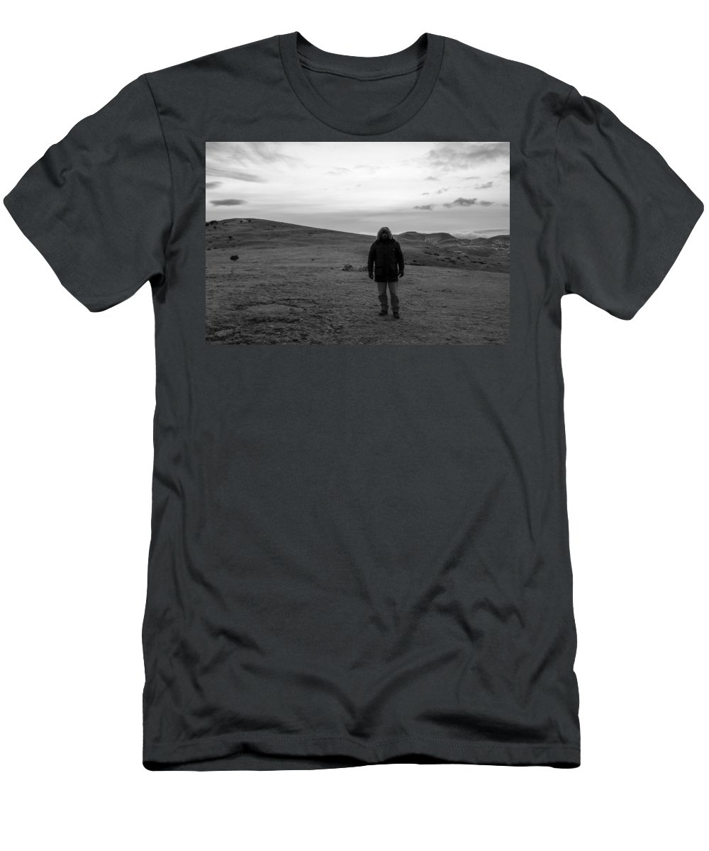 Top Men's T-Shirt (Athletic Fit) featuring the photograph On Top by Antonio Macias Marin