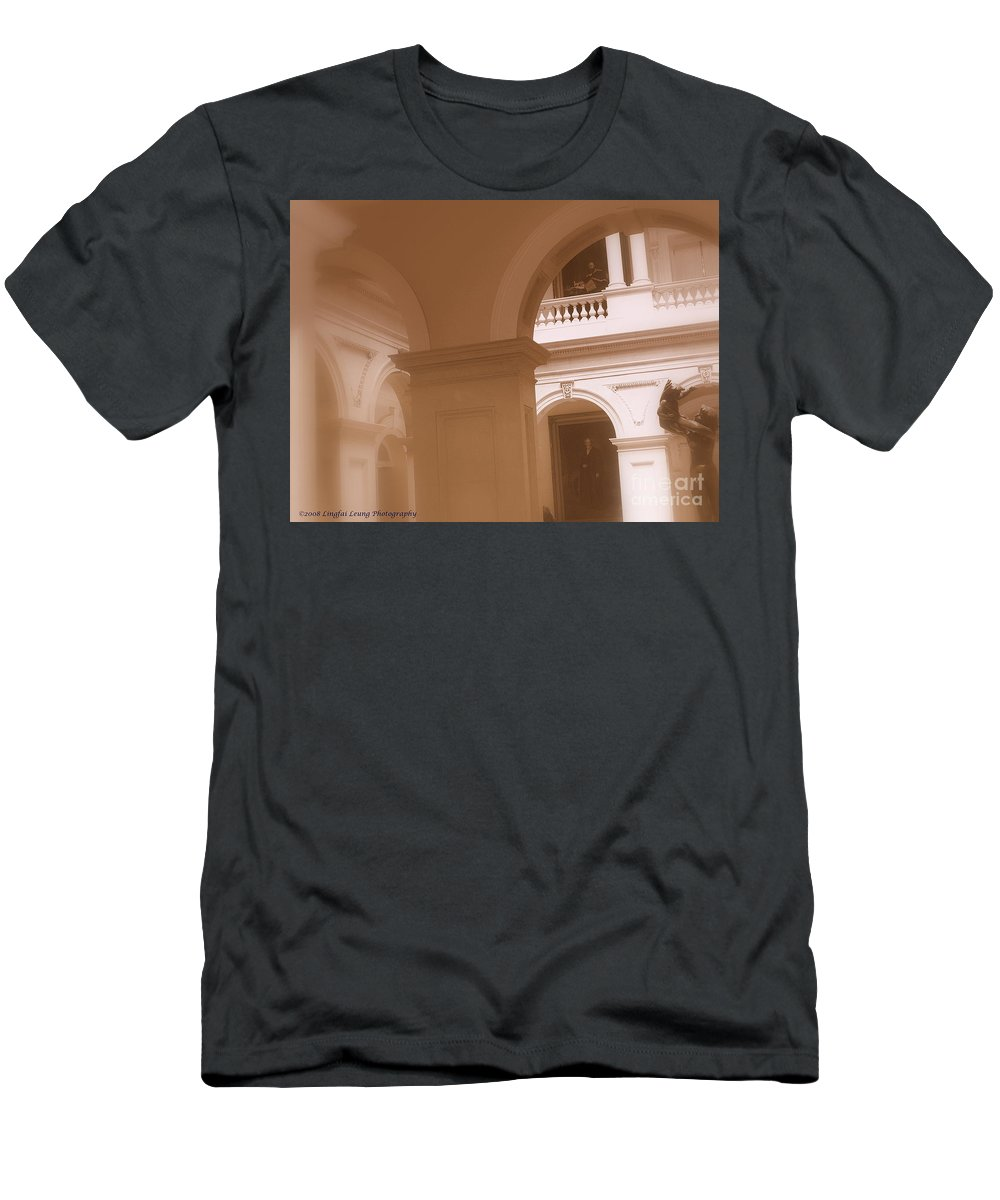 Doors Open Toronto 2008 Men's T-Shirt (Athletic Fit) featuring the photograph Osgoode Hall Law School by Lingfai Leung