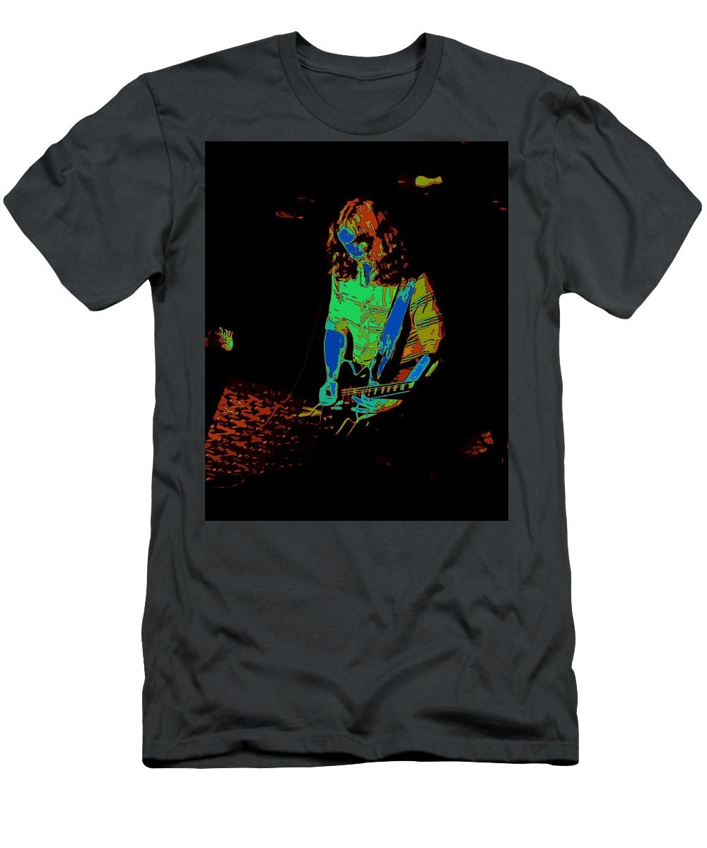 Outlaws Men's T-Shirt (Athletic Fit) featuring the photograph Outlaws #22 Art Cosmic by Ben Upham