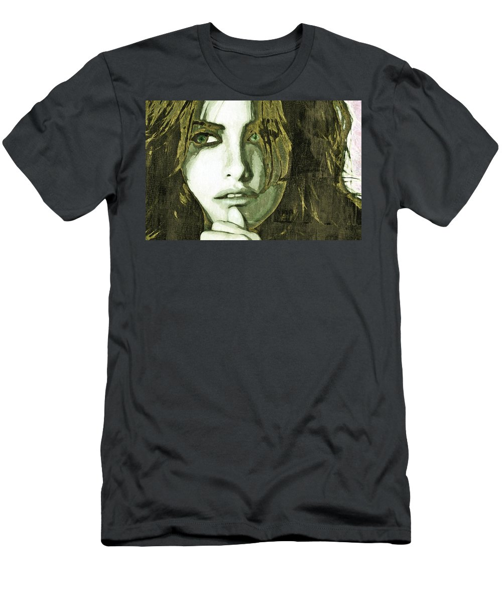Penelope Men's T-Shirt (Athletic Fit) featuring the photograph Penelope by John Madison