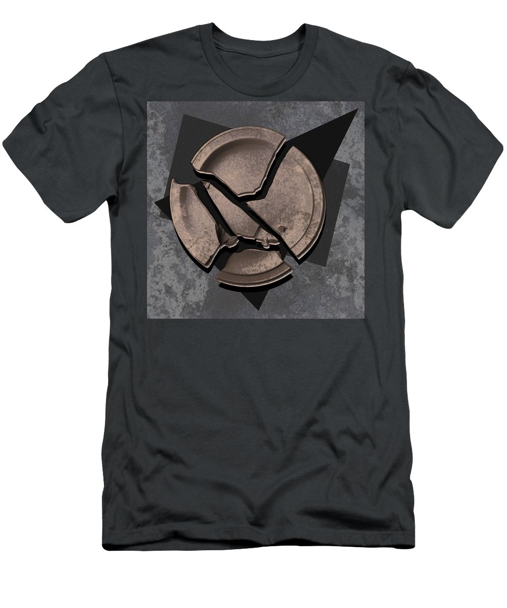 Plate Men's T-Shirt (Athletic Fit) featuring the photograph Plate 3c by Mauro Celotti