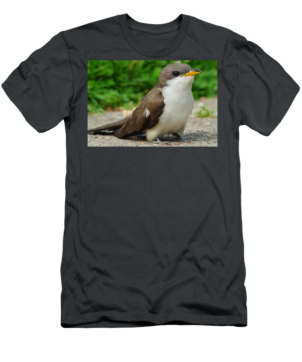 Puppy Men's T-Shirt (Athletic Fit) featuring the photograph Puppy Dog Eyes by Frozen in Time Fine Art Photography