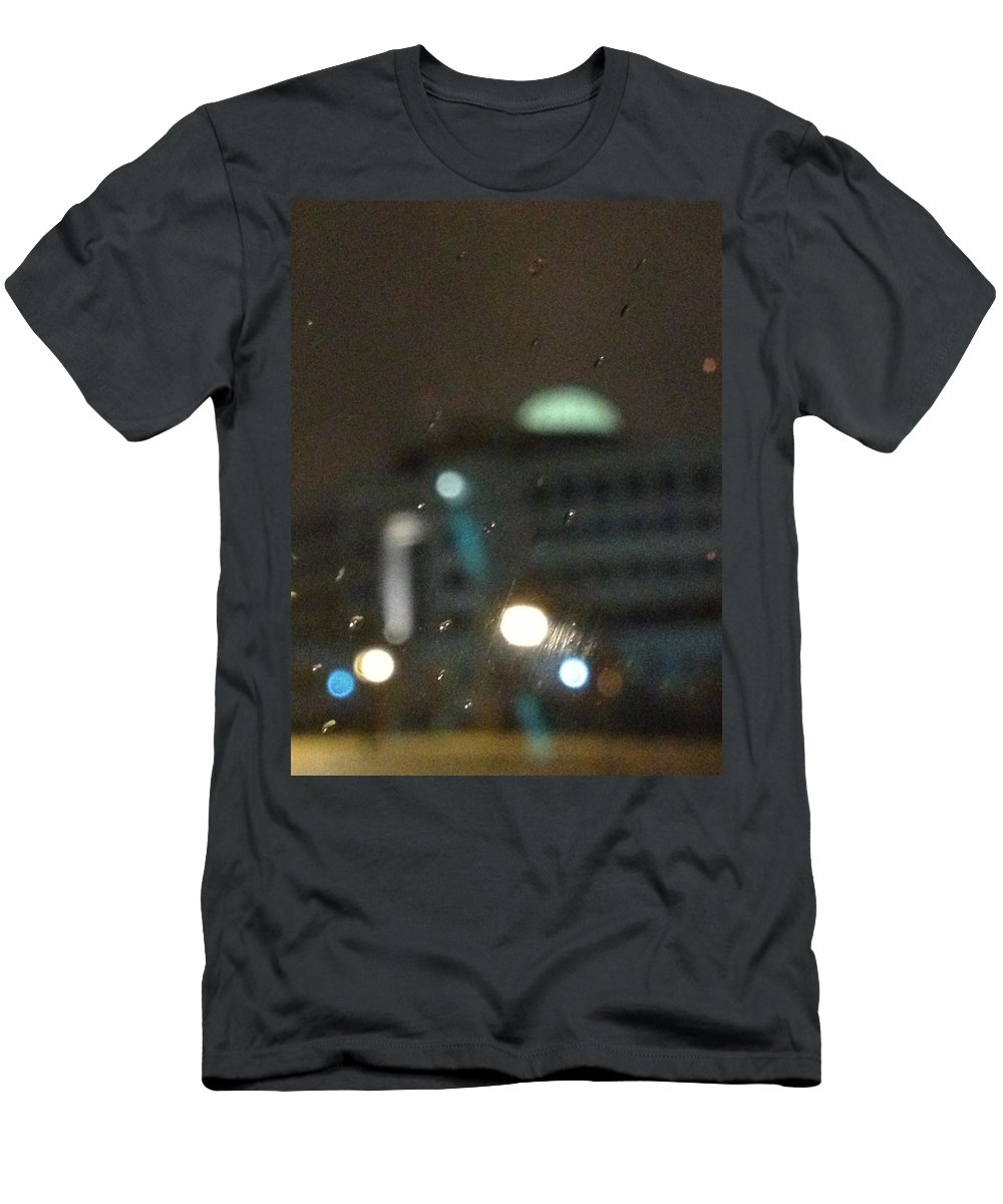 Dome Men's T-Shirt (Athletic Fit) featuring the photograph Reality by Joseph Yarbrough