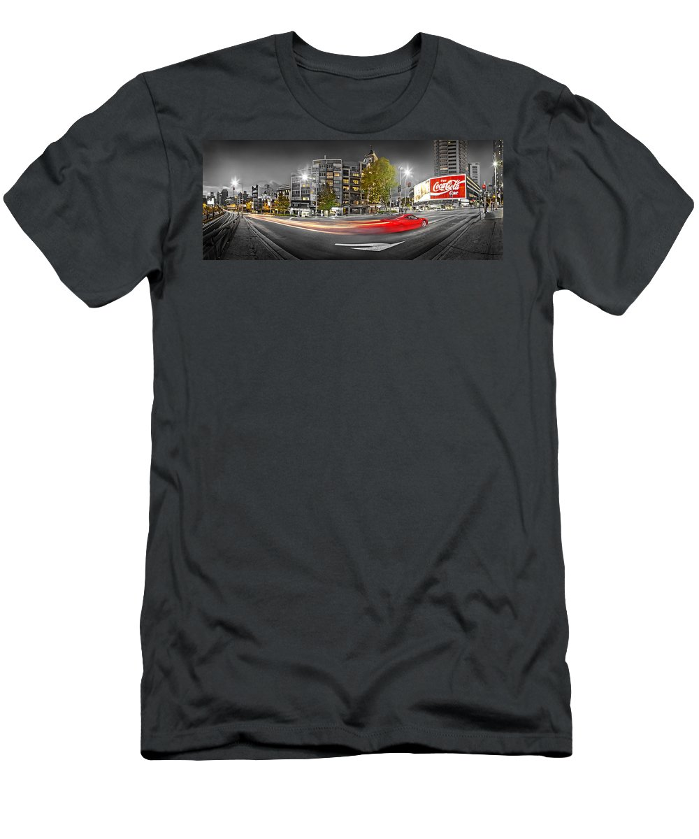 Sydney T-Shirt featuring the photograph Red Lights Sydney Nights by Az Jackson
