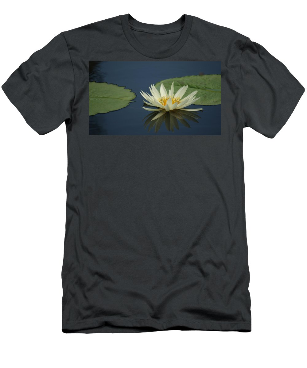 Reflection Men's T-Shirt (Athletic Fit) featuring the photograph Reflection In Time...  # by Rob Luzier