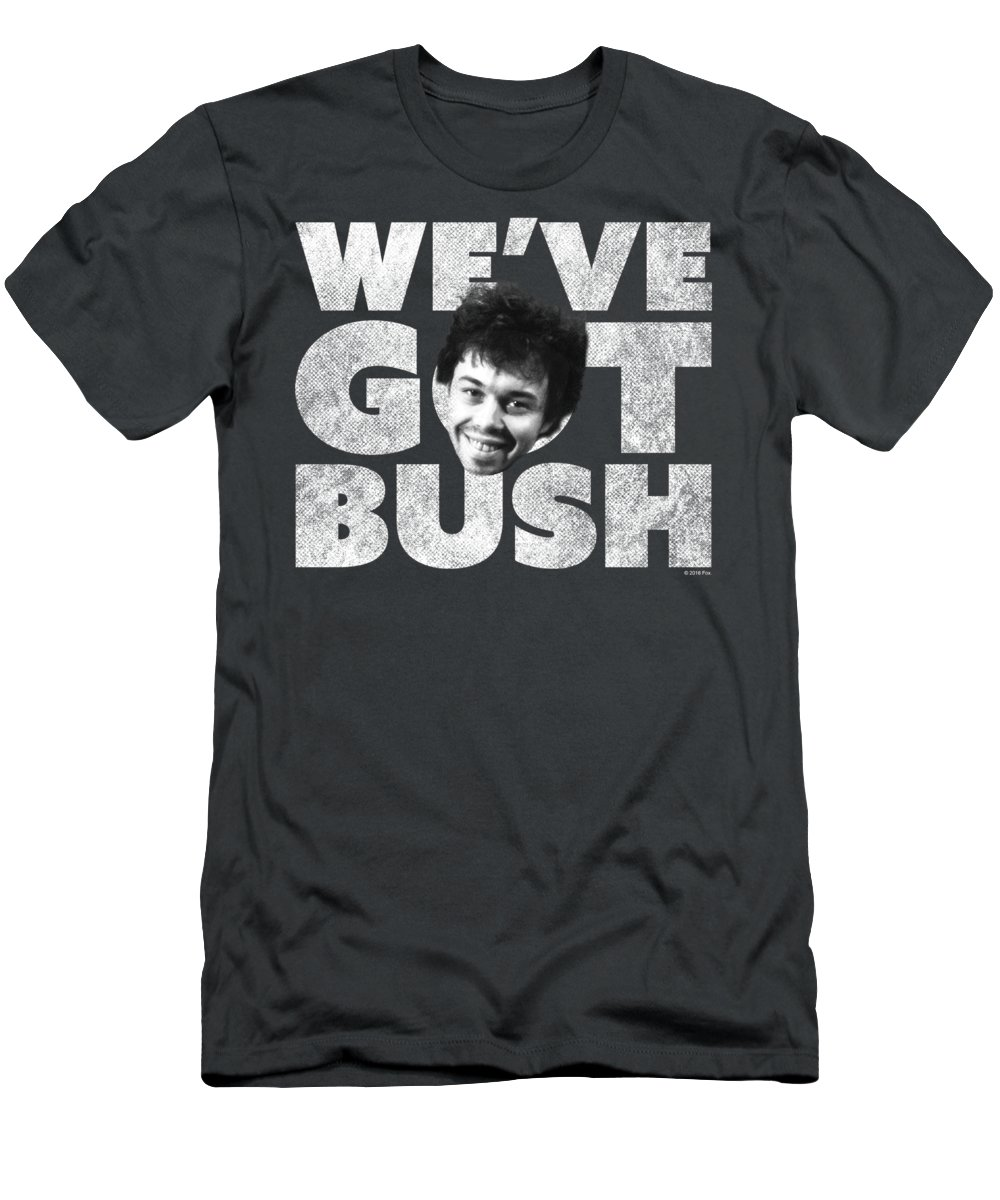 T-Shirt featuring the digital art Revenge Of The Nerds - We've Got Bush by Brand A