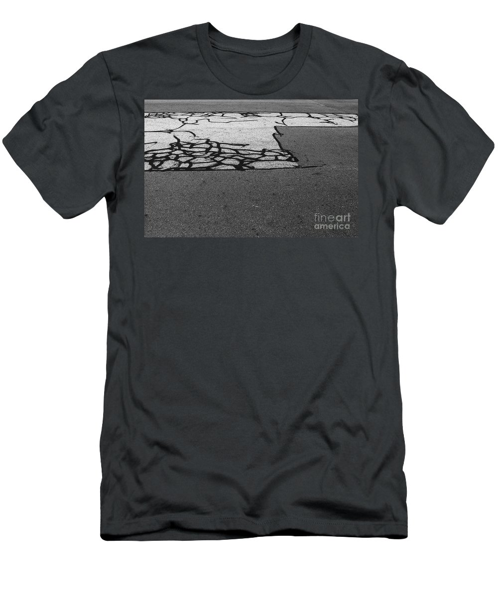 Abstract Men's T-Shirt (Athletic Fit) featuring the photograph Rhythm No.18 by Fei A