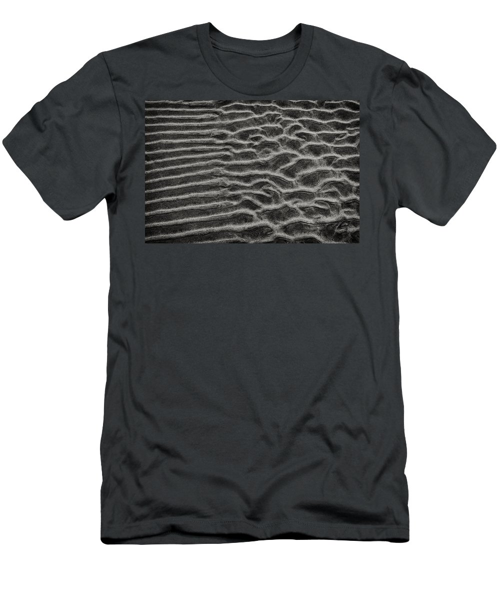 Ripples Men's T-Shirt (Athletic Fit) featuring the photograph Ripples 9 by Robert Woodward