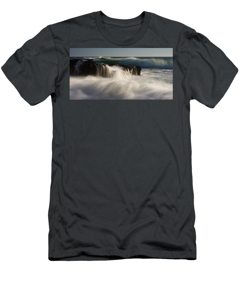 Santa Cruz Men's T-Shirt (Athletic Fit) featuring the photograph Rock N Roll by Dayne Reast