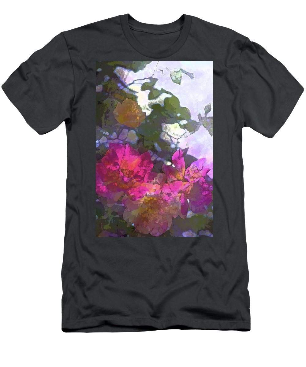 Floral Men's T-Shirt (Athletic Fit) featuring the photograph Rose 206 by Pamela Cooper