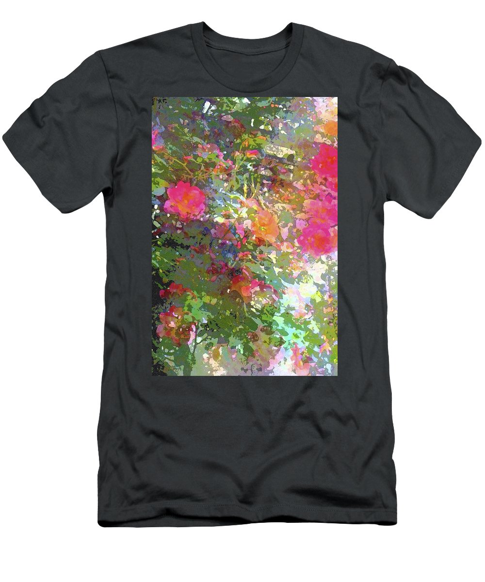 Floral Men's T-Shirt (Athletic Fit) featuring the photograph Rose 207 by Pamela Cooper