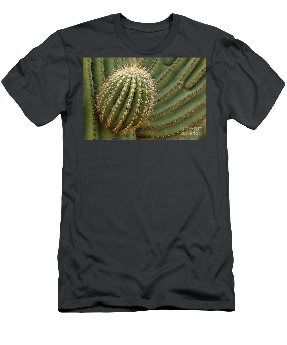 Nature Men's T-Shirt (Athletic Fit) featuring the photograph Saguaro Cactus by John Shaw